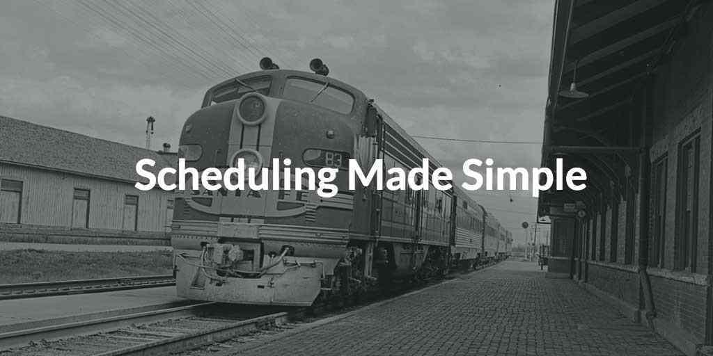 Simple Tips To Rejuvenate How You Schedule Projects